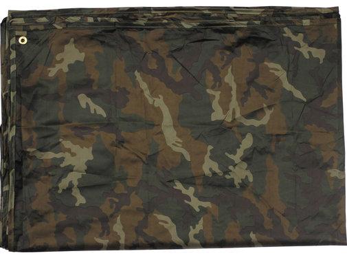 "MFH Outdoor MFH - Dekzeil  -  ""Tarp""  -  Woodland camo  -  ca. 300 x 300 cm"