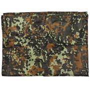 """MFH Outdoor MFH - Dekzeil  -  """"Tarp""""  -  Vlekken camouflage  -  ca. 300 x 300 cm"""