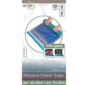 Bo-Trail Bo-Trail - Vacuümzakken - Travelbags - 2x M - 1x L - 3 Stuks