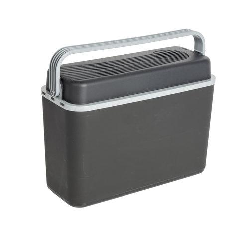 Bo-Camp Autokoelbox - Arctic - 12 volt - 12 Liter - Zwart/Grijs