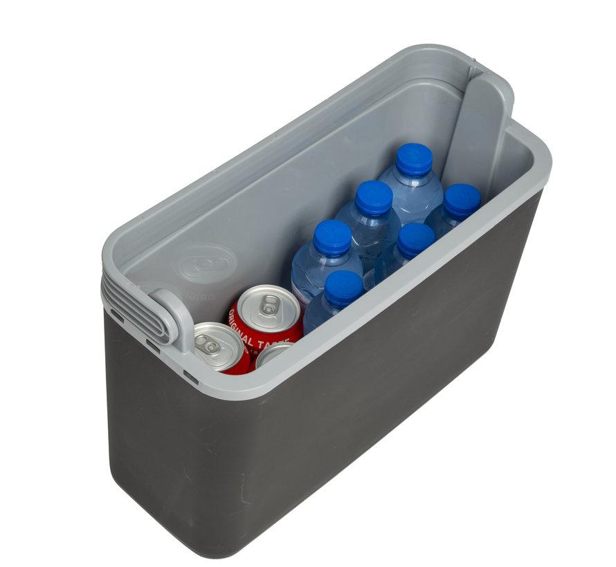 Autokoelbox - Arctic - 12 volt - 12 Liter - Zwart/Grijs