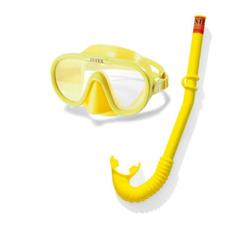 Intex Intex - Tauchbrille und Schnorchelset - Adventurer