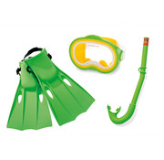 Intex Intex - Snorkel set - 3-Delig - Groen