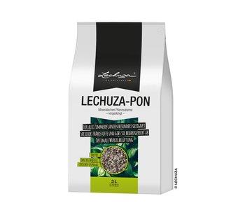 Lechuza LECHUZA-PON 3 liter - Hoogwaardig, mineraal plantensubstraat