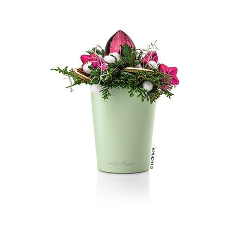 Lechuza Lechuza - tafelpot Mini-Deltini mint groen hoogglans ALL-IN-ONE set