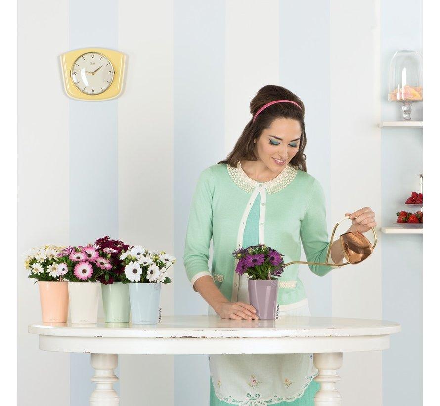 Lechuza - tafelpot Mini-Deltini mint groen hoogglans ALL-IN-ONE set