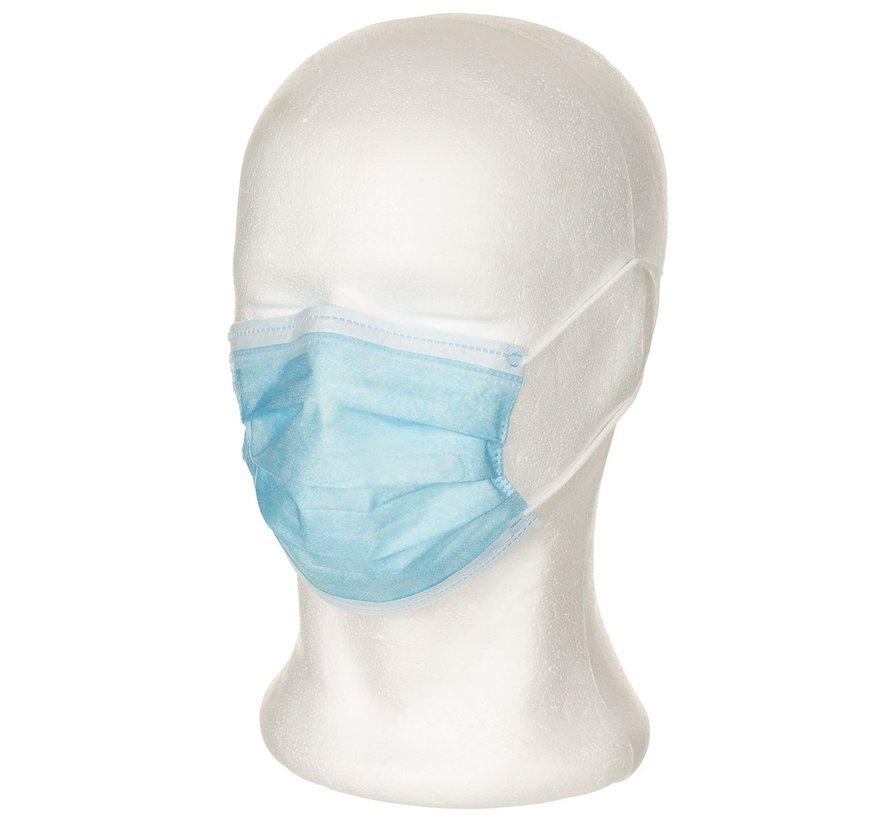 Einwegmaske, 3-Lagen, mit Elastikband
