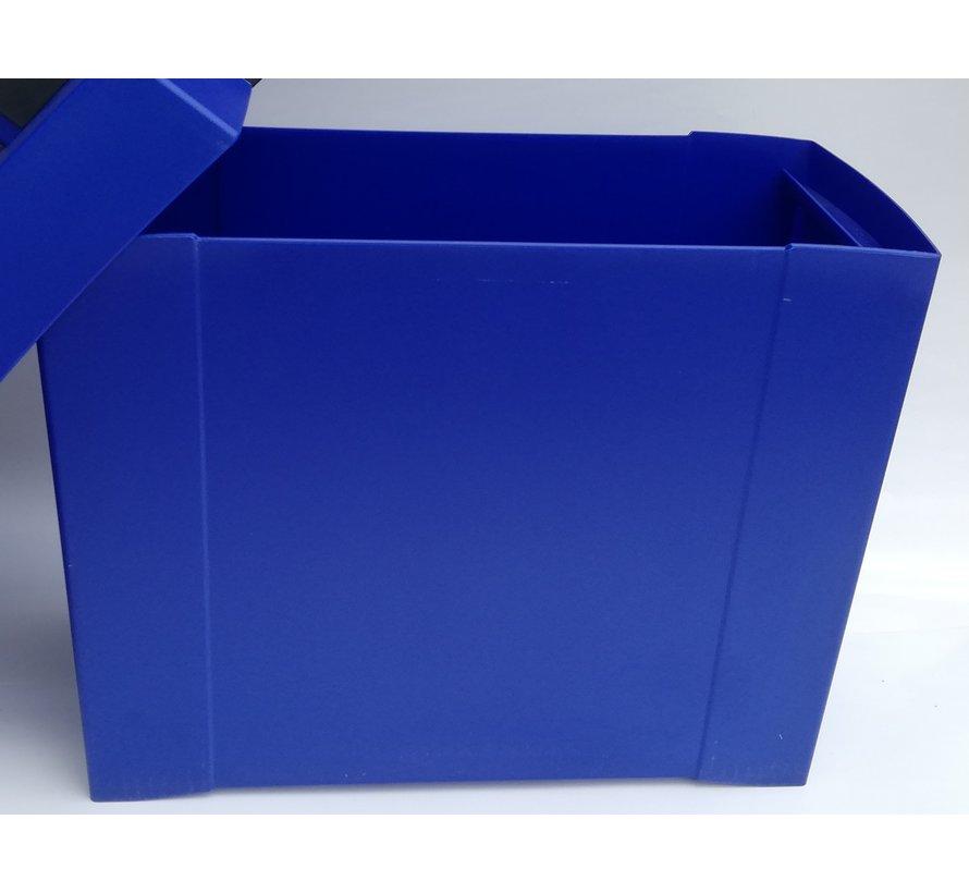 ELBA Move  -  Koffertje  -  Hangmappenkoffer  -  Blauw  -  Ook voor vissen of picnic