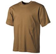 MFH Outdoor MFH - US T-Shirt  -  Coyote tan  -  170 g/m²
