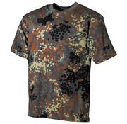 MFH Outdoor MFH - US T-Shirt -  halbarm -  flecktarn -  170 g/m²