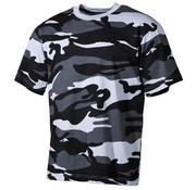 MFH Outdoor MFH - US T-Shirt -  halbarm -  skyblue -  170 g/m²
