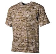MFH Outdoor MFH - US T-Shirt  -  Desert digital  -  170 g/m²