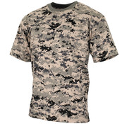 MFH Outdoor MFH - US T-Shirt -  halbarm -   -  digital urban -  170 g/m²