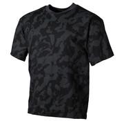 MFH Outdoor MFH - US T-Shirt -  halbarm -  night- -  camo -  170 g/m²