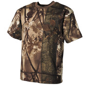 """MFH Outdoor MFH - US T-Shirt  -  """"Hunter""""  -  Bruin  -  170 g/m²"""