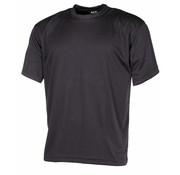 """MFH Outdoor MFH - T-shirt  -  """"Tactical""""  -  Zwart"""