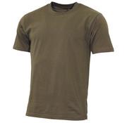 "MFH MFH - US T-shirt  -  ""Streetstyle""  -  Legergroen  -  145 g/m²"
