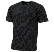 "MFH MFH - US T-shirt  -  ""Streetstyle""  -  Night camo  -  145 g/m²"