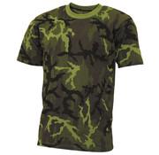 "MFH Outdoor MFH - US T-shirt  -  ""Streetstyle""  -  M 95 CZ camo  -  145 g/m²"