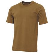 "MFH Outdoor MFH - US T-shirt  -  ""Streetstyle""  -  Coyote tan  -  145 g/m²"