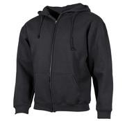 """ProCompany ProCompany - Kapuzen Sweatshirt-Jacke -  """"PC"""" -  340 g/m² -  schwarz"""