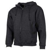 "ProCompany ProCompany - Vest met capuchon  -  ""PC""  -  Zwart  -  340 g/m²"