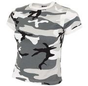 MFH Outdoor MFH - US T-shirt  -  Dames  -  Urban camo