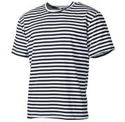 MFH Outdoor MFH - Russ. Marine T-Shirt -  weiß-blau -  halbarm