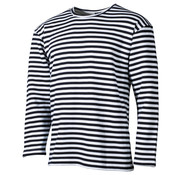 MFH Outdoor MFH - Russ. Marine Shirt -  weiß-blau -  langarm -  Winter
