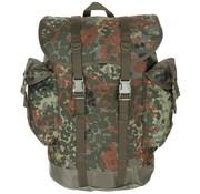 MFH Outdoor Army Hiking rugzak vlekcamouflage - replica van origineel materiaal