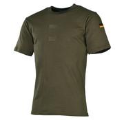 MFH Outdoor MFH - BW Onderhemd  -  Legergroen  -  Met Duitse vlag en klittenband