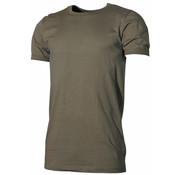 MFH Outdoor MFH - BW Onderhemd  -  Korte mouwen  -  Legergroen (Grote maten)