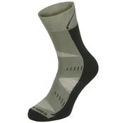 """Fox Outdoor Fox Outdoor - Trekking sokken  -  """"Arber""""  -  Gewatteerde zool  -  Legergroen"""