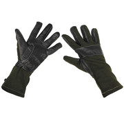 """MFH Outdoor MFH - Army Handschoenen  -  """"Combat""""  -  Legergroen  -  extra lang"""