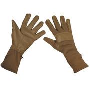 "MFH Outdoor MFH - Army Handschoenen  -  ""Combat""  -  Coyote tan  -  extra lang"