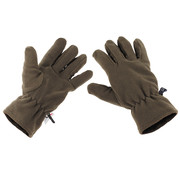 MFH Outdoor MFH - Fleece-Handschuhe -  oliv -  3M™ Thinsulate™ Insulation