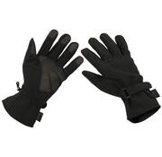 "MFH High Defence MFH High Defence - Vinger handschoenen  -  ""Soft shell""  -  Zwart"