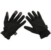 """MFH High Defence MFH High Defence - Vinger handschoenen  -  """"Lightweight""""  -  Zwart"""