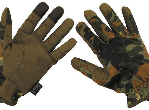 "MFH High Defence MFH High Defence - handschoenen  -  ""Lightweight""  -  Vlekken camouflage"