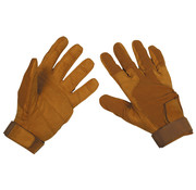 """MFH High Defence MFH High Defence - Vinger handschoenen  -  """"Stripes""""  -  Coyote tan"""