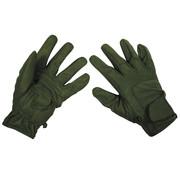 "MFH High Defence MFH High Defence - Vinger handschoenen  -  ""Worker light""  -  Legergroen"