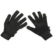 """MFH Outdoor MFH - Vinger handschoenen  -  """"Security""""  -  Zwart"""