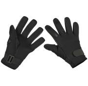 """MFH Outdoor MFH - Vinger handschoenen  -  """"Mesh""""  -  Neopreen  -  Zwart"""