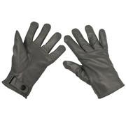 MFH Outdoor MFH - BW Lederhandschuhe -  grau