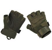 "MFH High Defence MFH High Defence - Vingerloze handschoenen  -  ""Pro""  -  Legergroen"