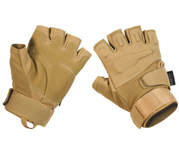 "MFH High Defence MFH High Defence - Vingerloze handschoenen  -  ""Pro""  -  Coyote Tan"