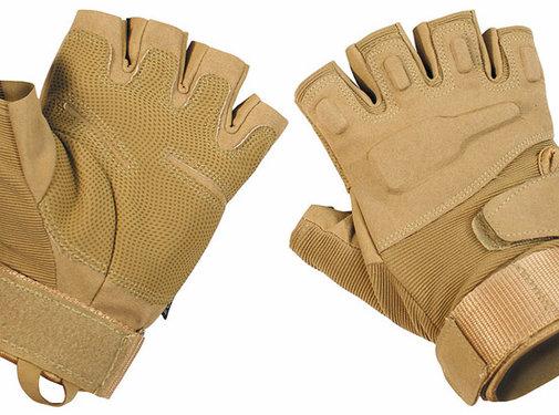 "MFH High Defence MFH High Defence - Vingerloze handschoenen  -  ""Pro""  -  Coyote Tan"