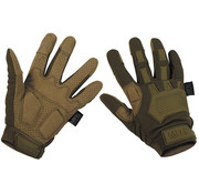"""MFH High Defence MFH High Defence - Tactical Handschuhe -  """"Action"""" -  coyote tan"""
