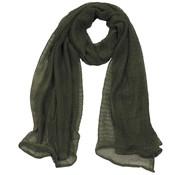 MFH Outdoor MFH - Mesh sjaal  -  Legergroen  -  190 x 90 cm