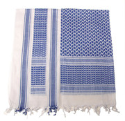 """MFH Outdoor MFH - PLO Sjaal  -  """"Shemagh""""  -  Blauw / Wit"""
